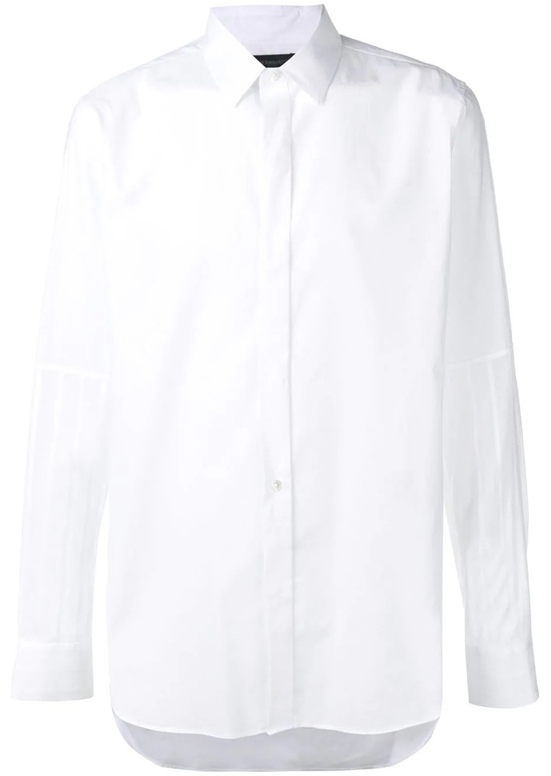 Ann Demeulemeester striped sleeves shirt