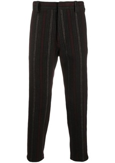 Ann Demeulemeester striped tailored trousers