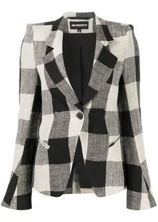 Ann Demeulemeester structured shoulder blazer