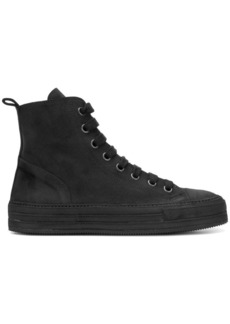 Ann Demeulemeester suede high-top sneakers