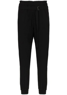 Ann Demeulemeester Tapered Cuff Wool Trousers