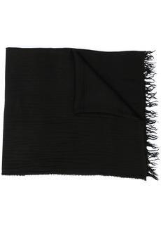 Ann Demeulemeester textured knitted scarf