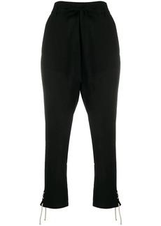 Ann Demeulemeester tie waist trousers