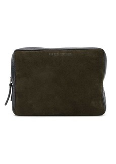Ann Demeulemeester two-tone make-up bag