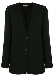 Ann Demeulemeester v-neck tailored blazer