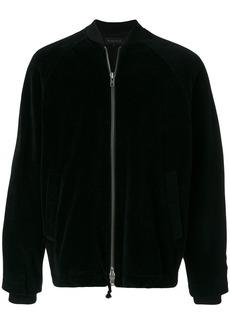 Ann Demeulemeester velvet bomber jacket