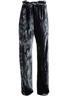 Ann Demeulemeester Velvet Wide Pants