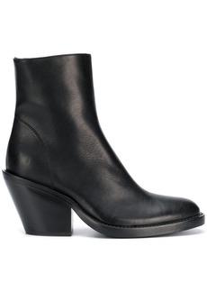 Ann Demeulemeester Vitello Nero boots