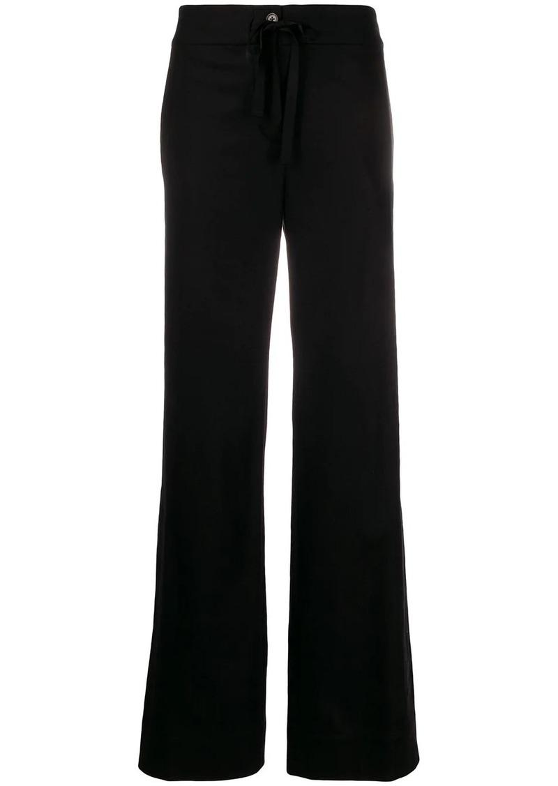 Ann Demeulemeester wide-leg drawstring trousers