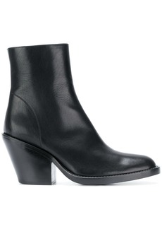 Ann Demeulemeester zip ankle boots