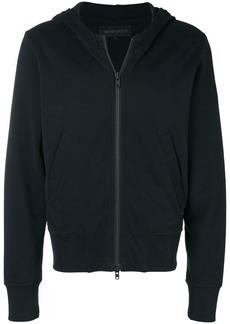 Ann Demeulemeester zipped hooded jacket