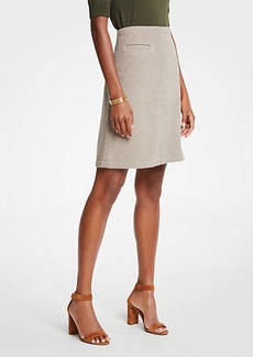 Ann Taylor A-Line Pocket Skirt