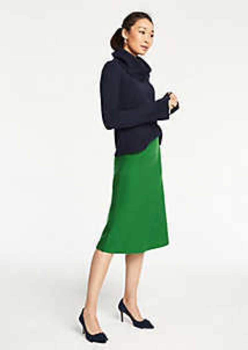 Ann Taylor A-Line Sweater Skirt