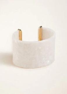 Ann Taylor Acetate Cuff Bracelet