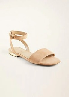 Ann Taylor Adley Suede Sandals