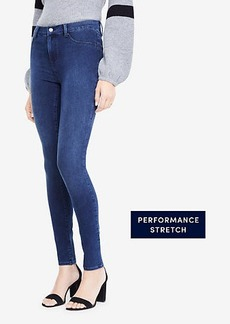 Ann Taylor All Day Denim Jeggings in Sapphire Waves Wash