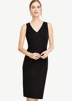 Seasonless Stretch Seamed Sheath Dress