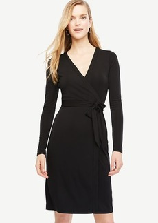 Ann Taylor Always On Wrap Dress