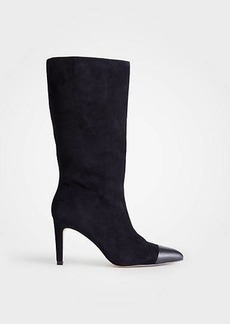 Ann Taylor Amira Suede Heeled Boots