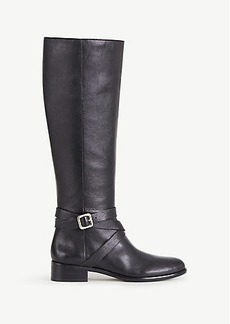 Amy Leather Buckle Boots