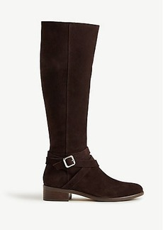 Amy Suede Buckle Boots