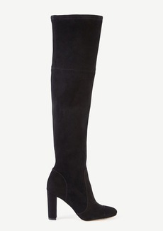 Ann Taylor Anna Marie Heeled Suede Boots