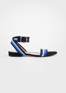 Ann Taylor Arlene Ribbon Flat Sandals