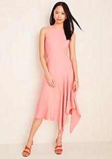 Ann Taylor Asymmetric Hem Flare Dress