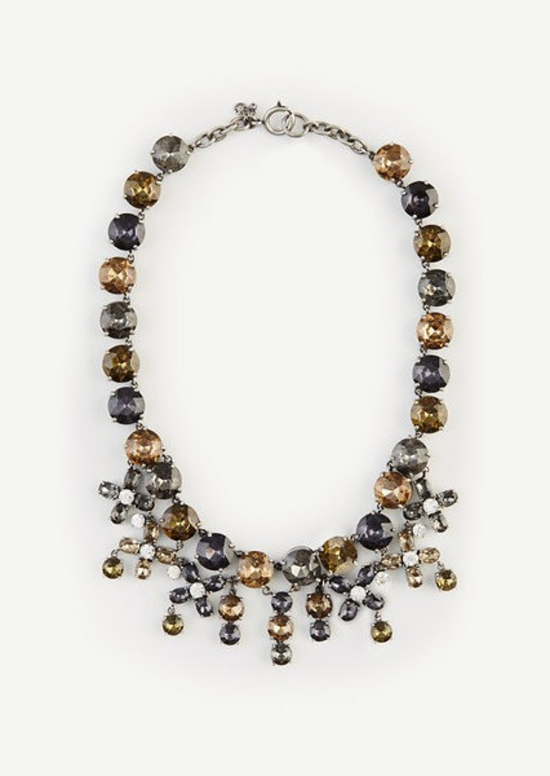 Ann Taylor A.T. Cares Crystal Statement Necklace
