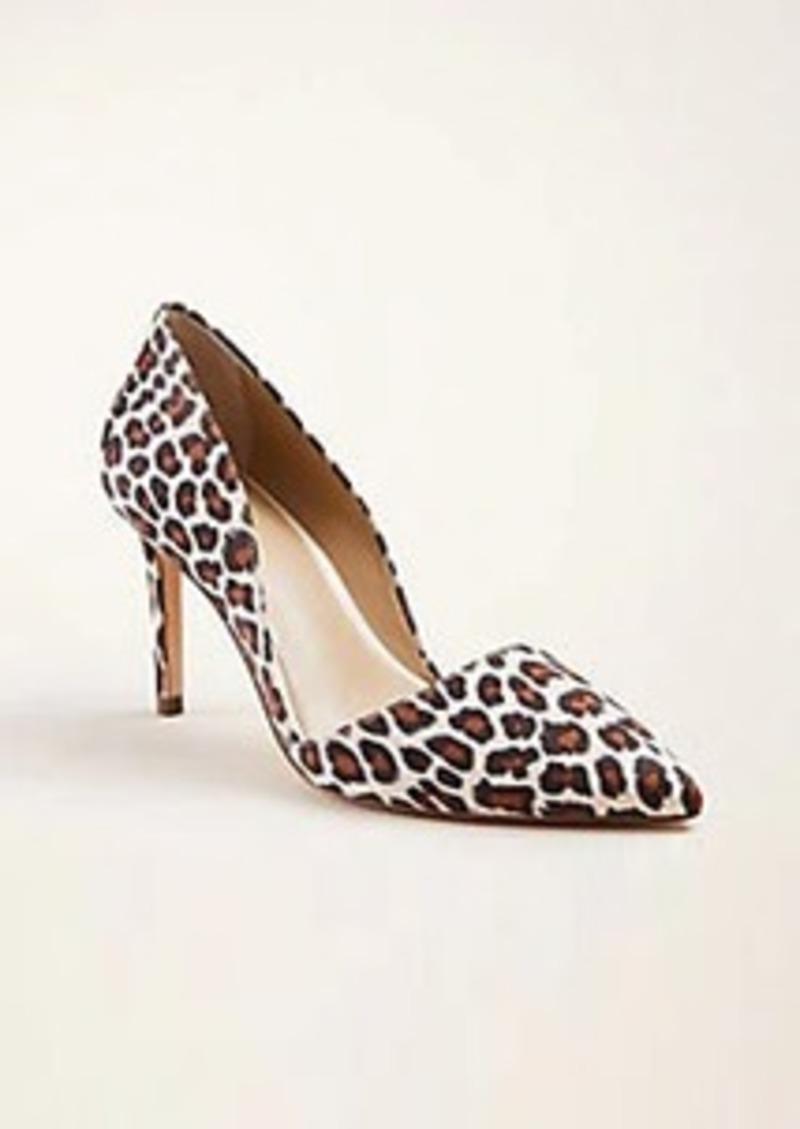 Ann Taylor Azra Leopard Print Pumps