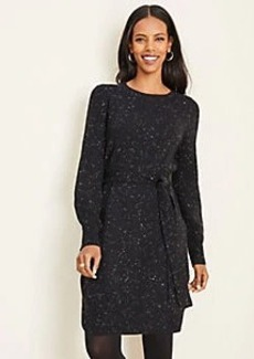 Ann Taylor Balloon Sleeve Sweater Dress