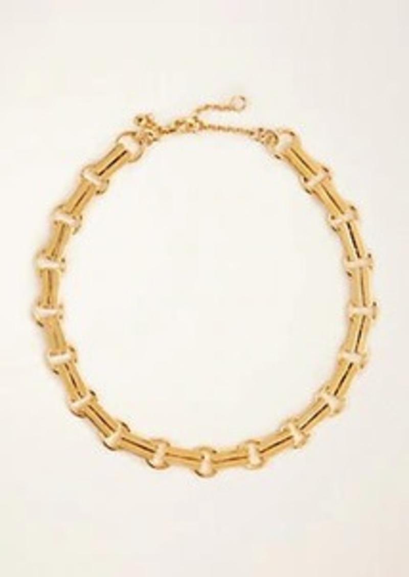 Ann Taylor Bar Linked Necklace