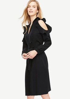Bare Shoulder Shirt Dress
