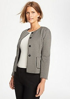 Ann Taylor Basketweave Knit Jacket