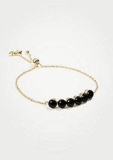 Ann Taylor Bead Slider Bracelet