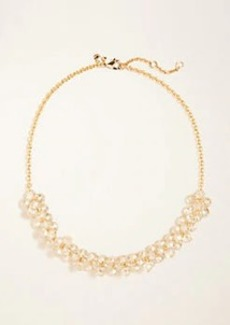 Ann Taylor Beaded Cluster Necklace