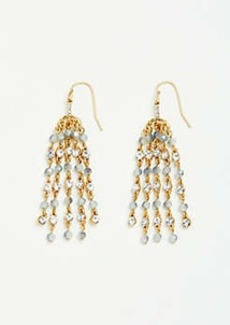 Ann Taylor Beaded Tassel Earrings