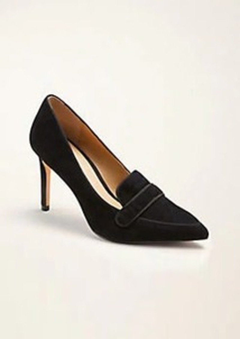 Beck Suede Loafer Pumps