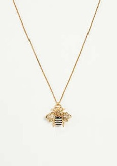 Ann Taylor Bee Pendant Necklace