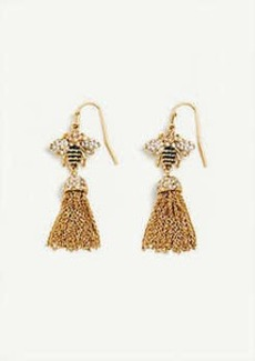 Ann Taylor Bee Tassel Earrings