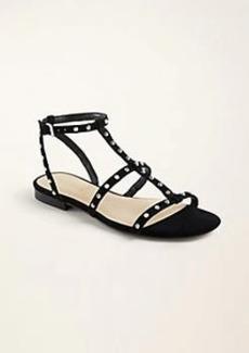 Ann Taylor Belen Suede Gladiator Sandals