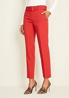 Ann Taylor Belted Ankle Pants