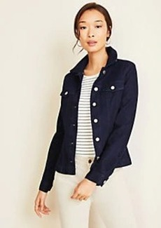 Ann Taylor Belted Denim Jacket