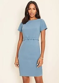 Ann Taylor Belted Sheath Dress