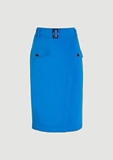 Ann Taylor Belted Wrap Pocket Pencil Skirt