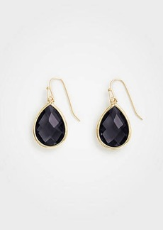 Ann Taylor Bezel Drop Earrings