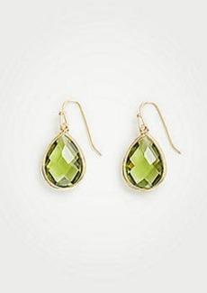 Ann Taylor Bezel Drop Earrings