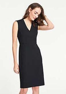 Ann Taylor The V-Neck Dress In Bi-Stretch
