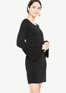 Blouson Sleeve Sweater Dress
