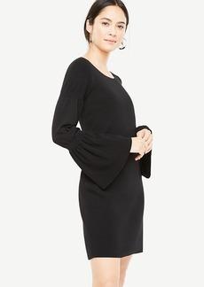 Blouson Sleeve Sweater Dress